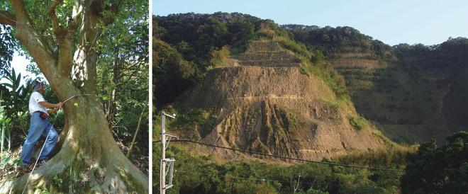 芎林開發區情景。(圖片來源:地球公民基金會)