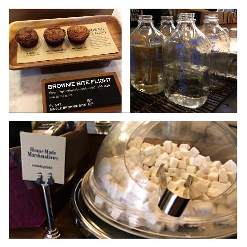 Dandelion Chocolate Housemade Marshmellows and Brownie Flights