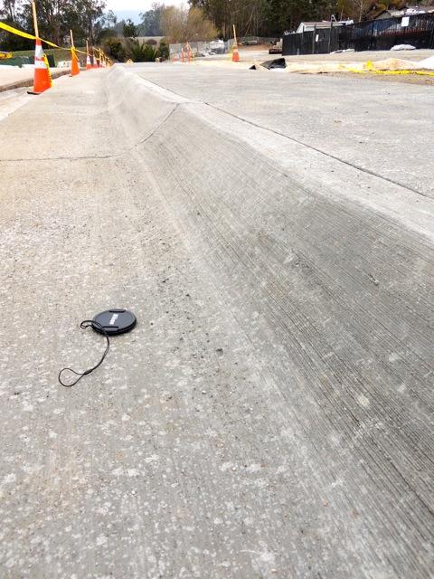 wrong curb