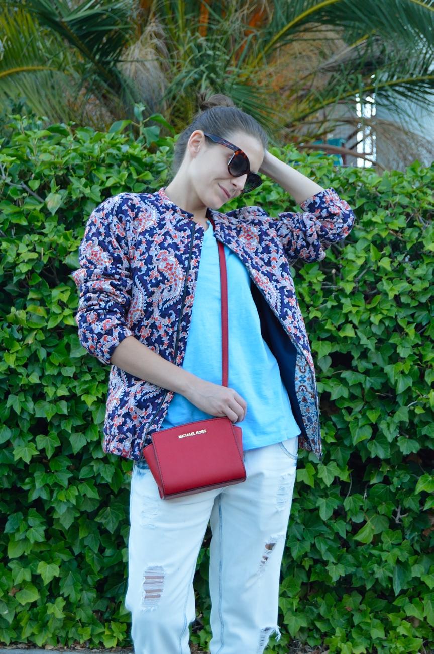 lara-vazquez-mad-lula-fashion-bomber-look-summer-red-bag