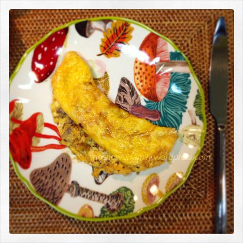Fried-egg-with-sesame-oil