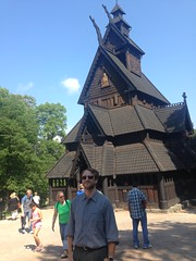 Stave church transported to Oslo