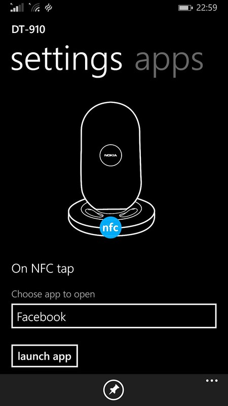 Nokia Wireless Charging Stand (DT-910) - NFC