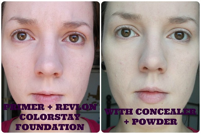 Revlon Colorstay Foundation FOTD