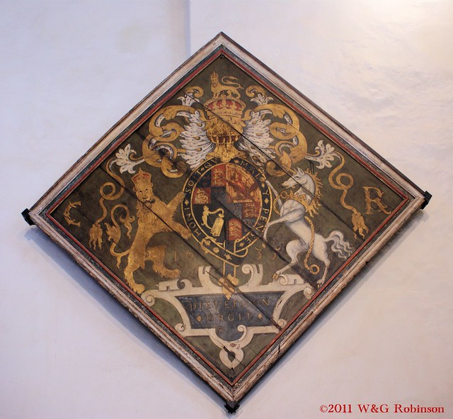 Royal Arms, Charles I