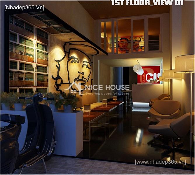 Nội thất quán cafe Cu Ba - HN_6