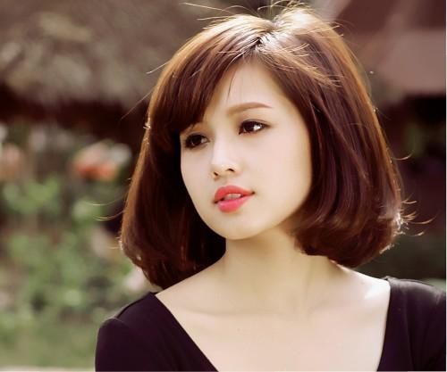 Các kiểu tóc ngắn đẹp! Tóc ngắn ép, uốn xoăn Hàn Quốc 26