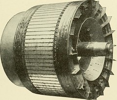 "Image from page 416 of ""Cyclopedia of applied electricity : a general reference work on direct-current generators and motors, storage batteries, electrochemistry, welding, electric wiring, meters, electric lighting, electric railways, power stations, swit"