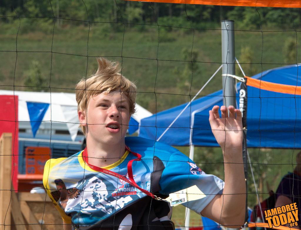Scouts, Venturers Explore Disability Challenges