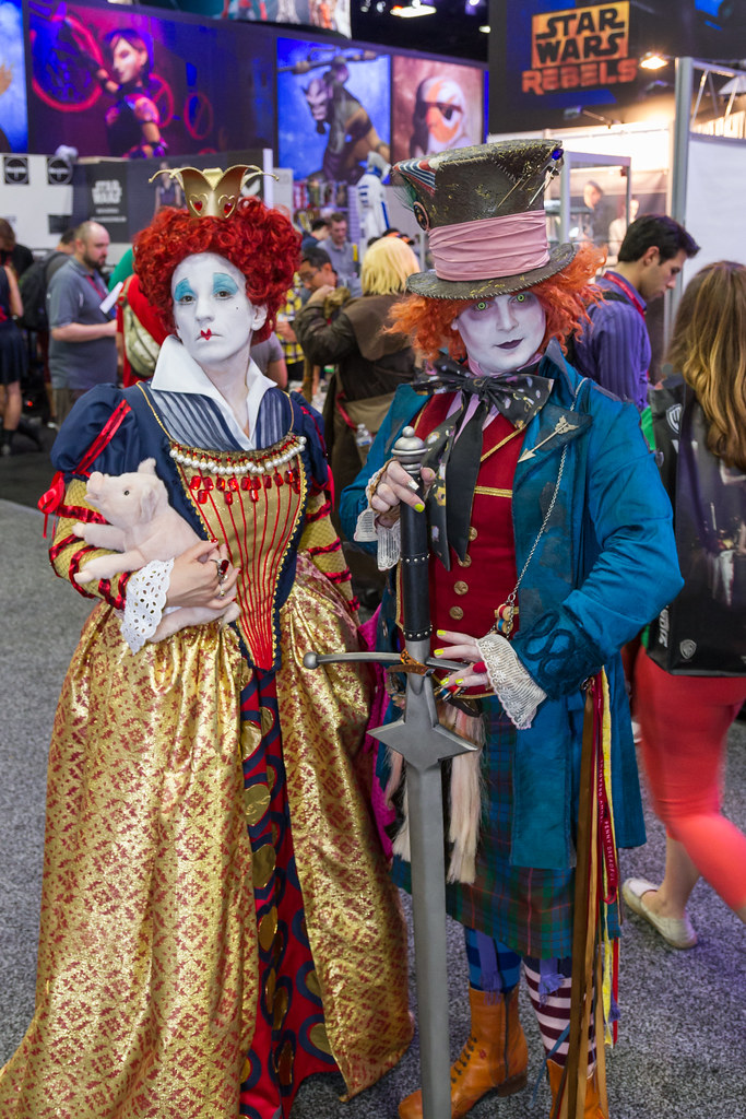 Mad Hatter SDCC 2014