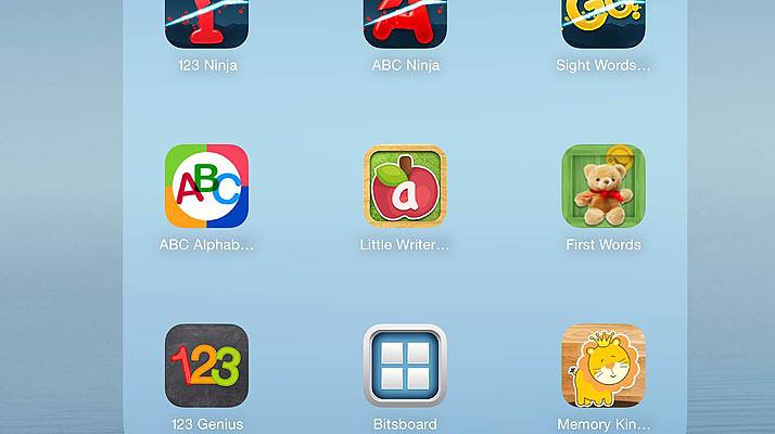 子ども用アプリ