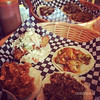 This is how we do lunch on a Friday at La Casita Tacos in West End Vancouver BC