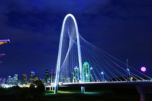 a Calatrava Bridge - Dallas TX