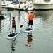 Paddle boarders by EmperorNorton47