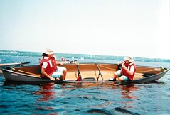 dinghy(0.0), rowing(0.0), watercraft rowing(0.0), motorboat(0.0), paddle(0.0), canoe(1.0), vehicle(1.0), sea(1.0), boating(1.0), watercraft(1.0), boat(1.0),