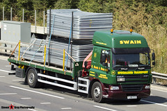 DAF CF 4x2 Flatbed - YJ06 CCZ - 91 - Swain - M1 J10 Luton - Steven Gray - IMG_1027