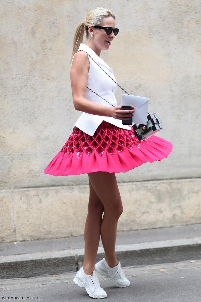 Inga Kozel at Paris Fashion Week Haute Couture