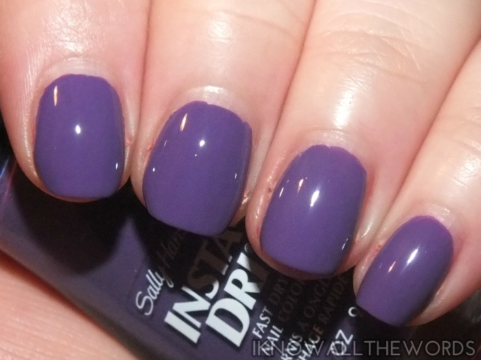 sally hansen insta-dri moroccan spice markey collection- pep in your step  (3)