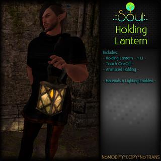 2014 Holding Lantern
