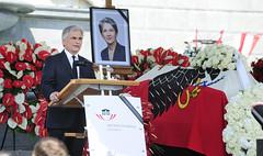 Trauerfeier für Barbara Prammer