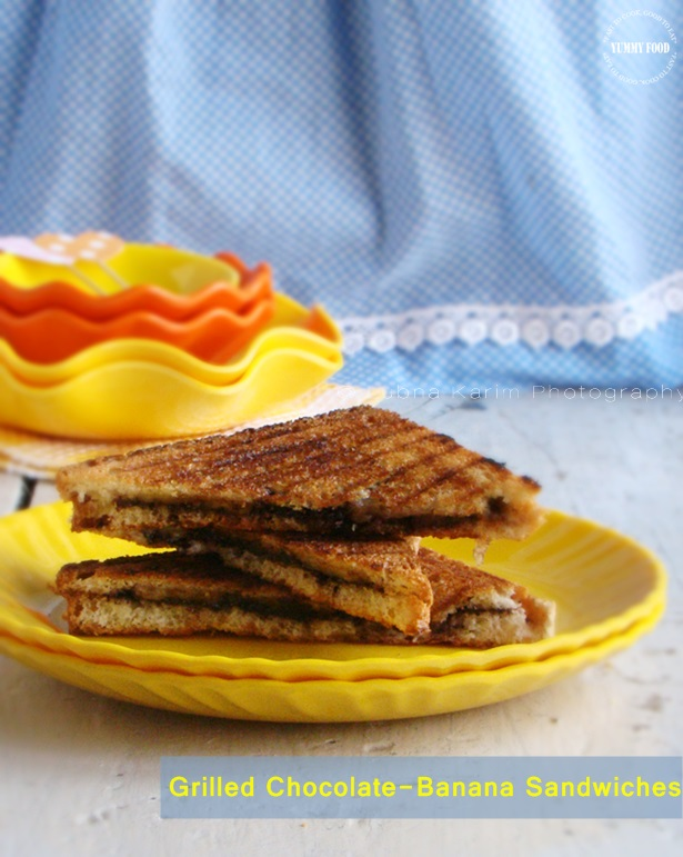 Grilled Chocolate Banana Sandwiches are more…. | Cooking ...