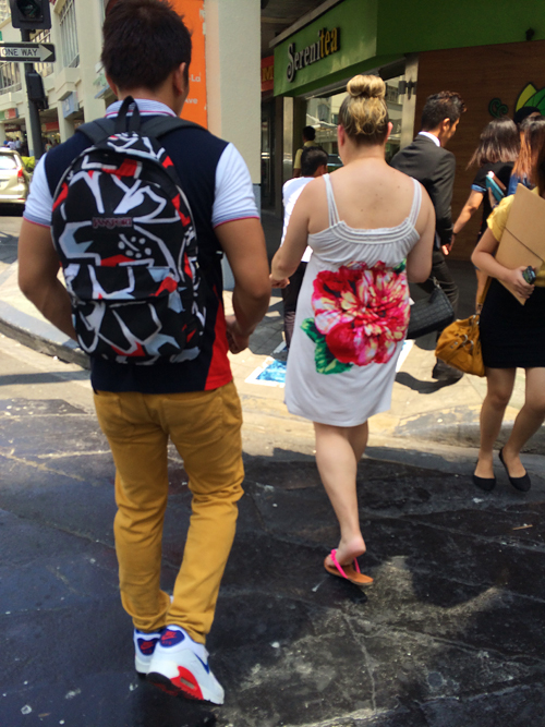 His-and-hers-florals
