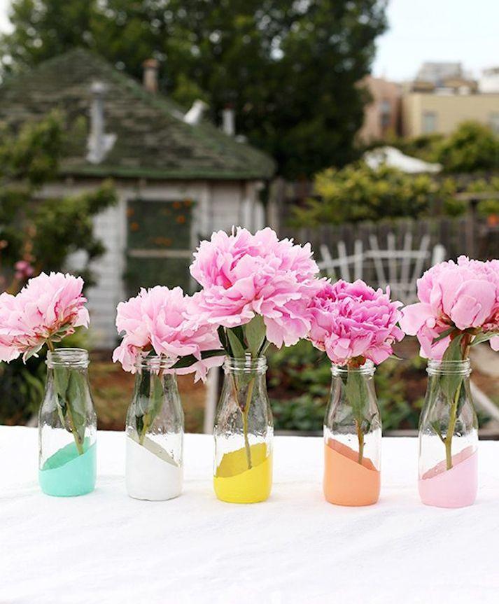 tarros de cristal para decorar in a trendy town
