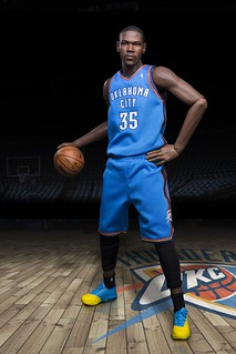 ENTERBAY【凱文·杜蘭特】Kevin Durant 1/6 比例 REAL MASTERPIECE NBA 系列