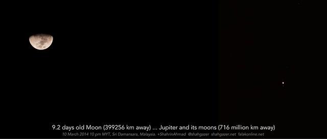 moon jupiter 10 mar 2014