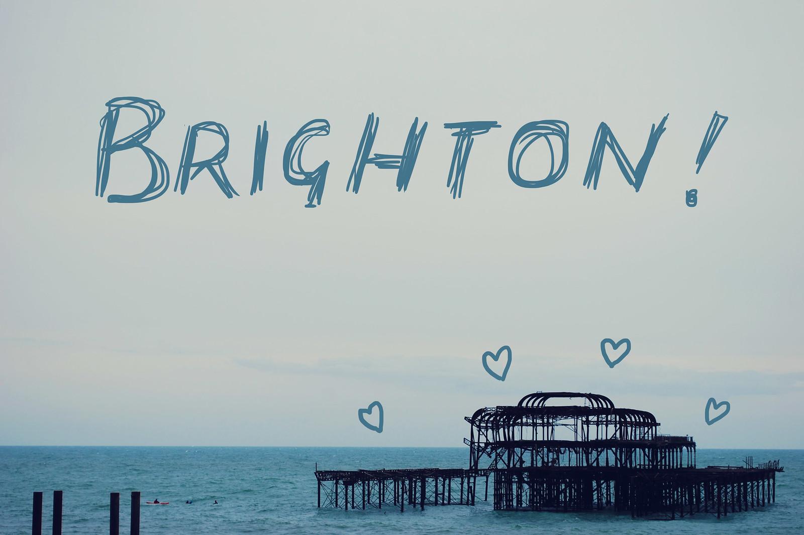 Modern Brighton Postcard