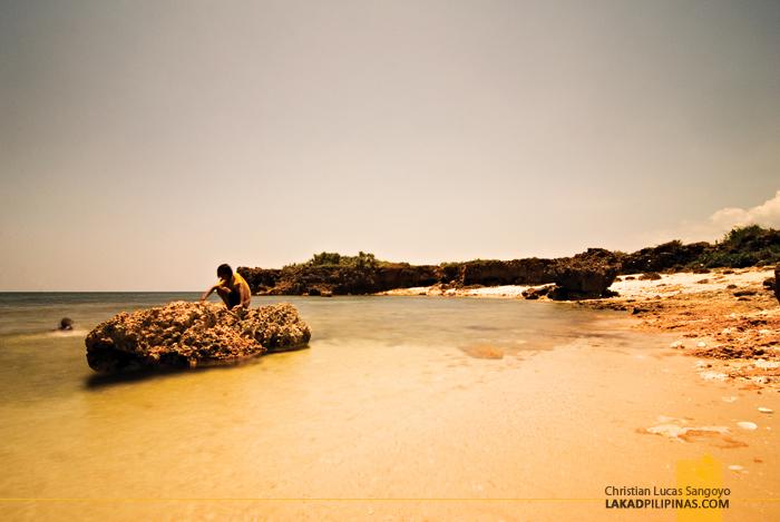 Cabacungan Cove at Dasol's Balas Nagtaros Island