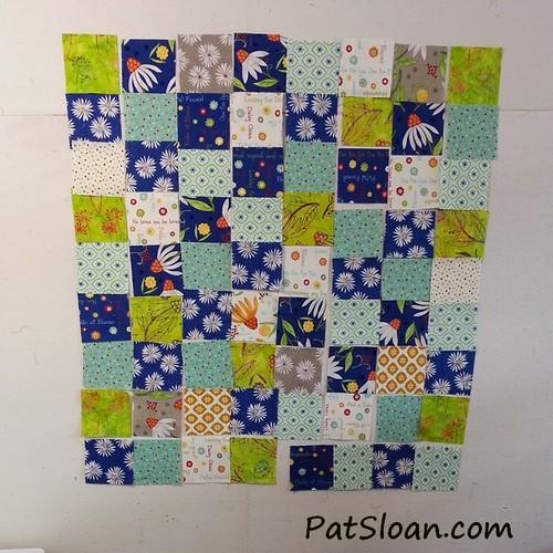 pat sloan scrap square quilt 1
