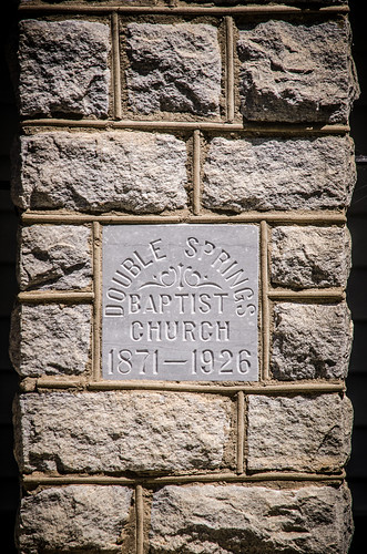 Double Springs Baptist Church-001