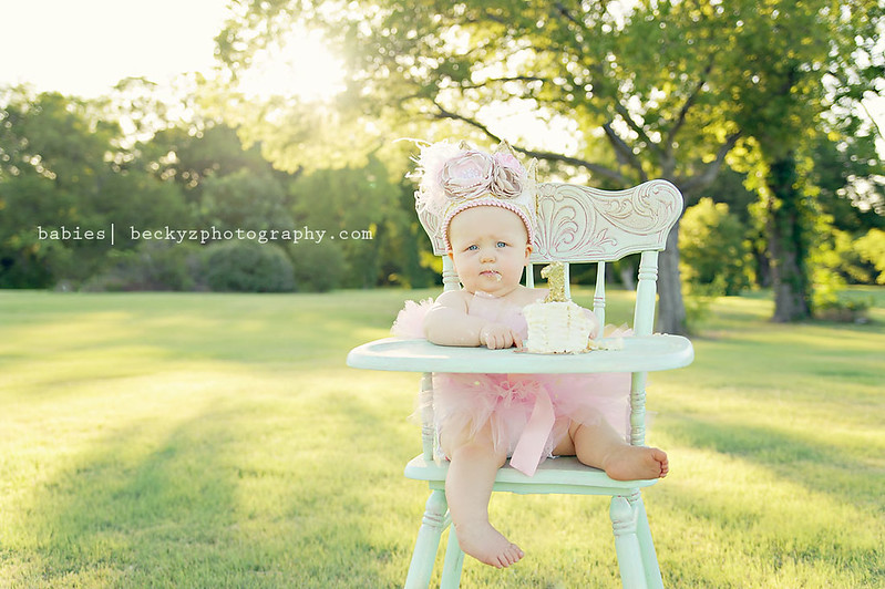 14954522889 aa7823b6e9 c Kirby is One | Frisco Baby Photographer