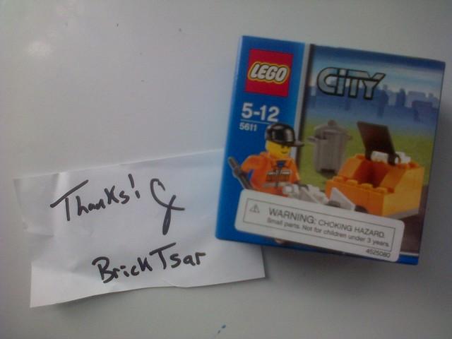 I Won BrickTsar's Contest on Youtube