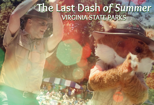 Last Dash of Summer at Virginia State Parks - Dancing Rangers at Grayson Highlands State Park