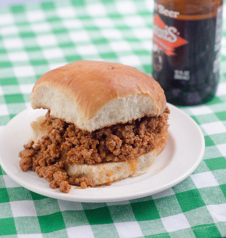 Root Beer Sloppy Joes