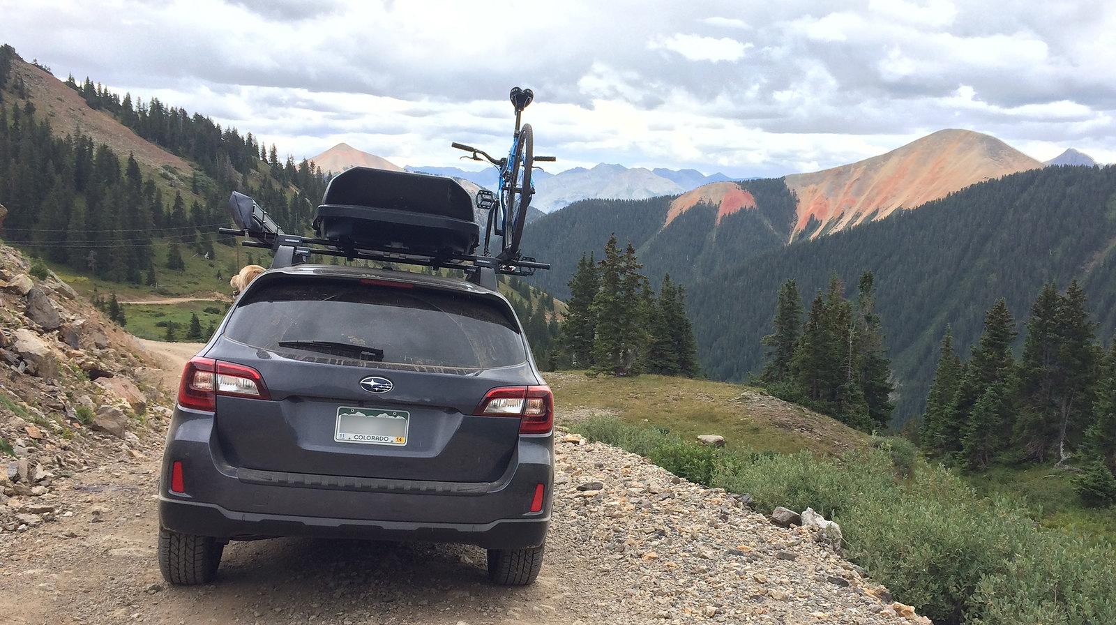 2015 Outback Yakima Crossbars Subaru Outback Subaru