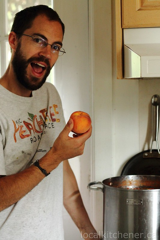 Our best peach salsa for canning
