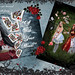 The Queen of Hearts book pages~ Alice in Wonderland by Alexandria R. LaNier