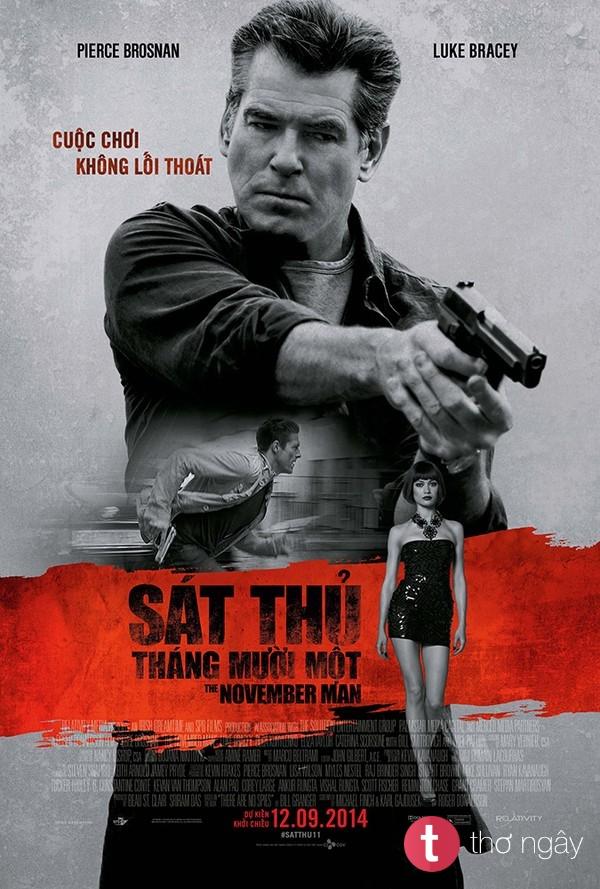 Phim Sát Thủ Tháng Mười Một - The November Man