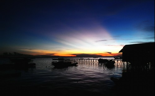 blue sunset sea white beach beauty indonesia island boat dock exotic borneo phonecamera lenovo kalimantan derawanisland p780 lenovop780