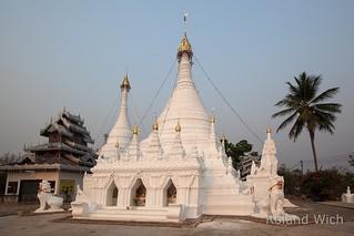 Mae Hong Son - Wat Phra That Doi Kong Mu