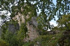Ferrette.Les ruines du château de Ferrette.6