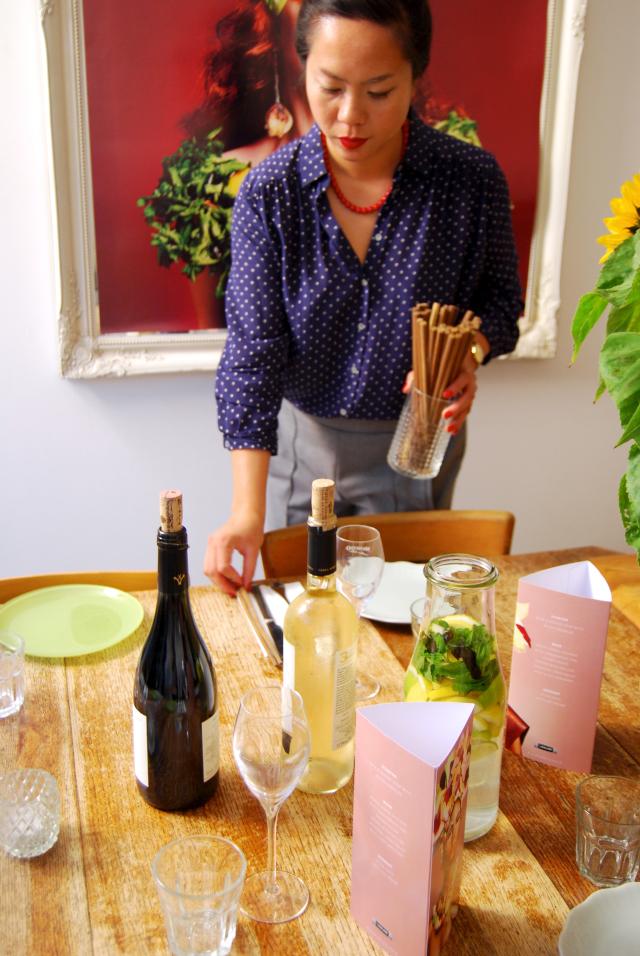 Uyen Luu Setting The Table