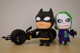 【玩具人'吉米'投稿】 3D列印DIY設計玩具魂 _ 暗黑小蝙蝠騎蝙蝠車與好朋友小丑的男子漢約會!!