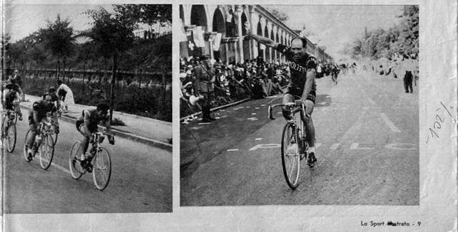 Zamboni vince a Vicenza (Giro 1961)