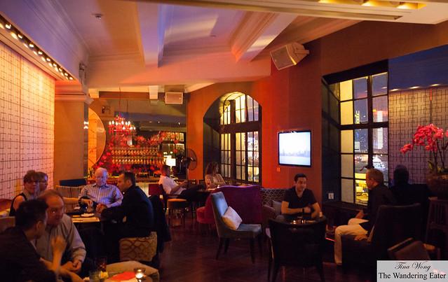 Interior of M Glamour Bar