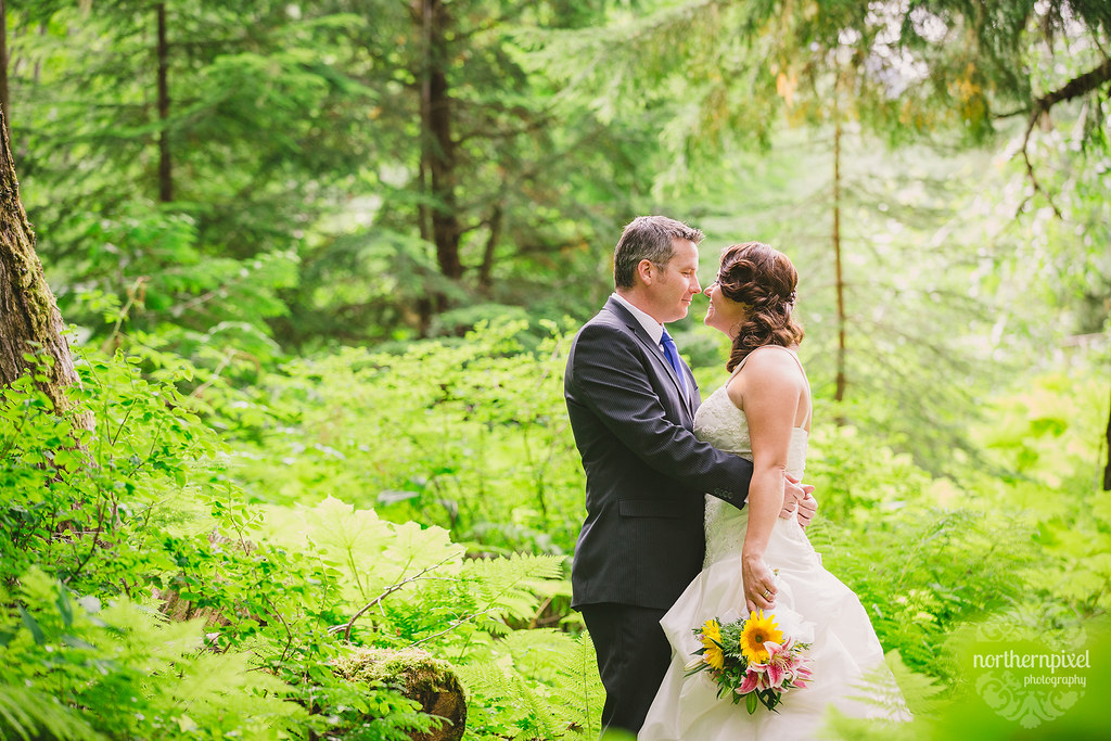 Ancient Forest After Wedding Session Northern British Columbia Wedding Photographer