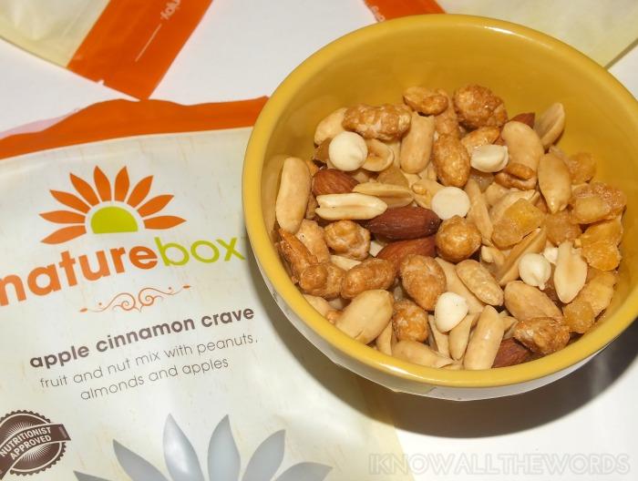 nature box canada september- apple cinnamon crave